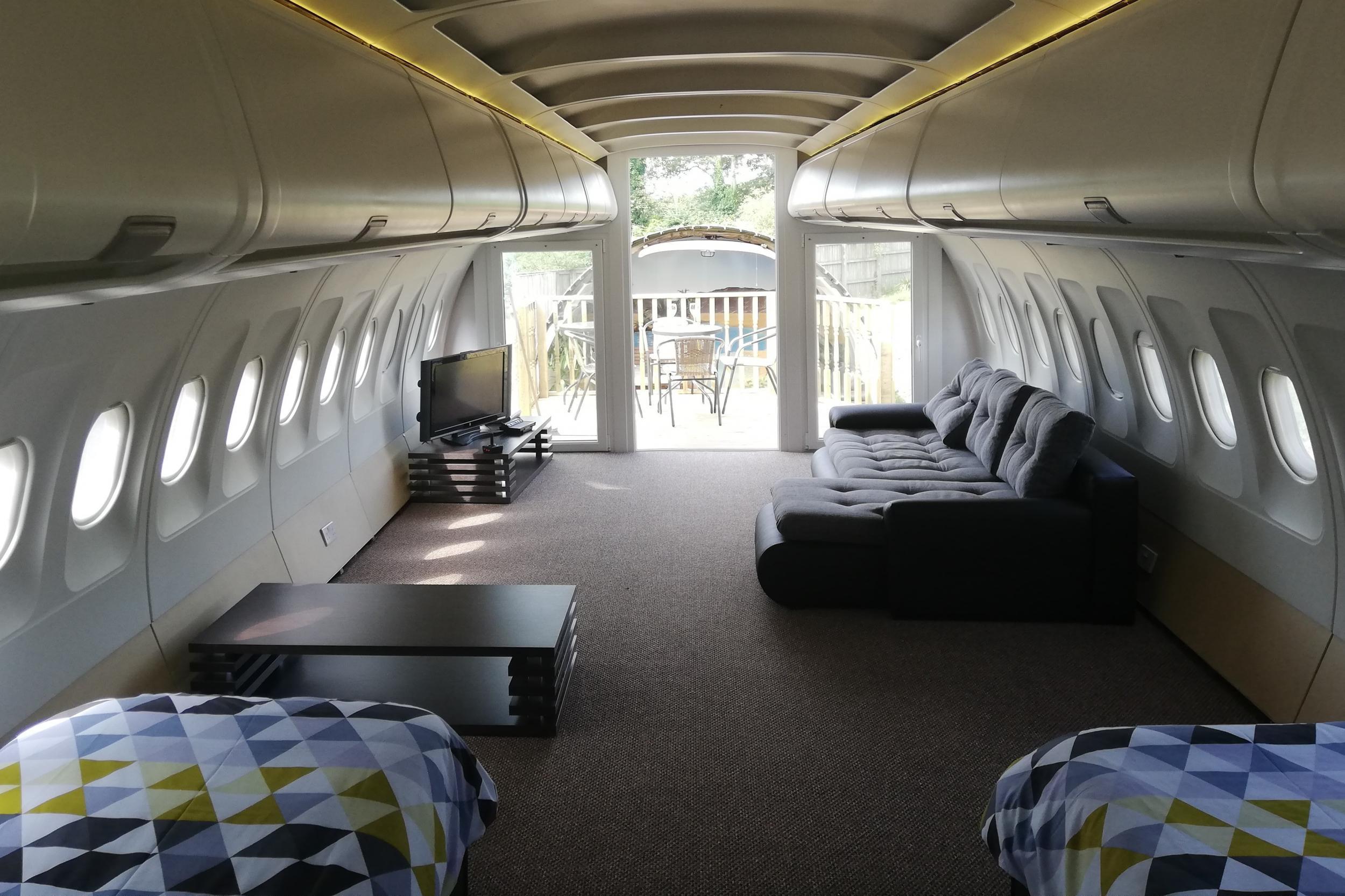 Etihad Airbus A319 vakantiehuisje