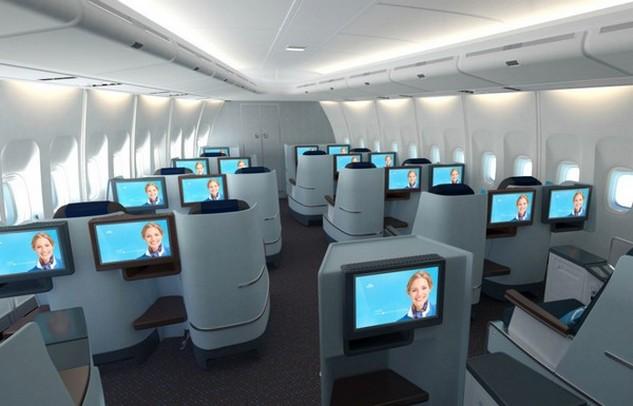Geen nieuw interieur in a330 vloot van klm luchtvaartnieuws for Interieur 747