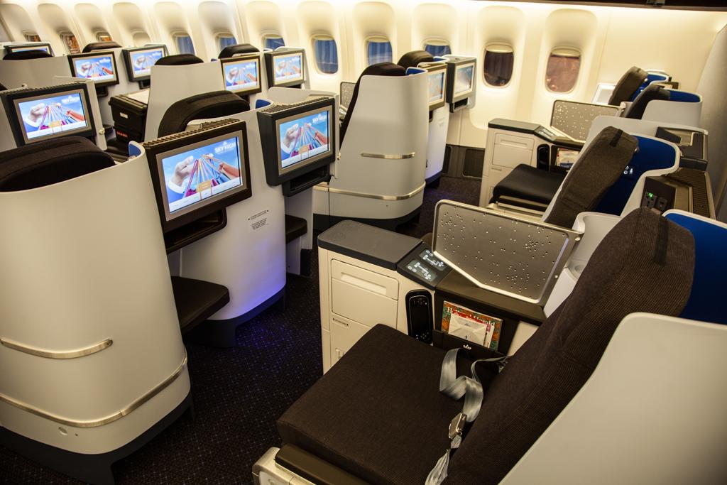 Klm ombouw boeing 777 vloot zit erop luchtvaartnieuws for Interieur 747