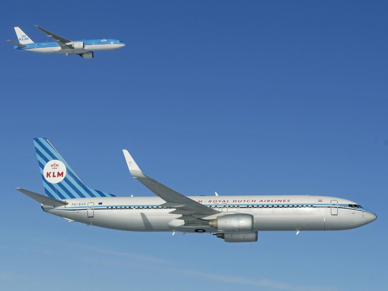 KLM 737 retro