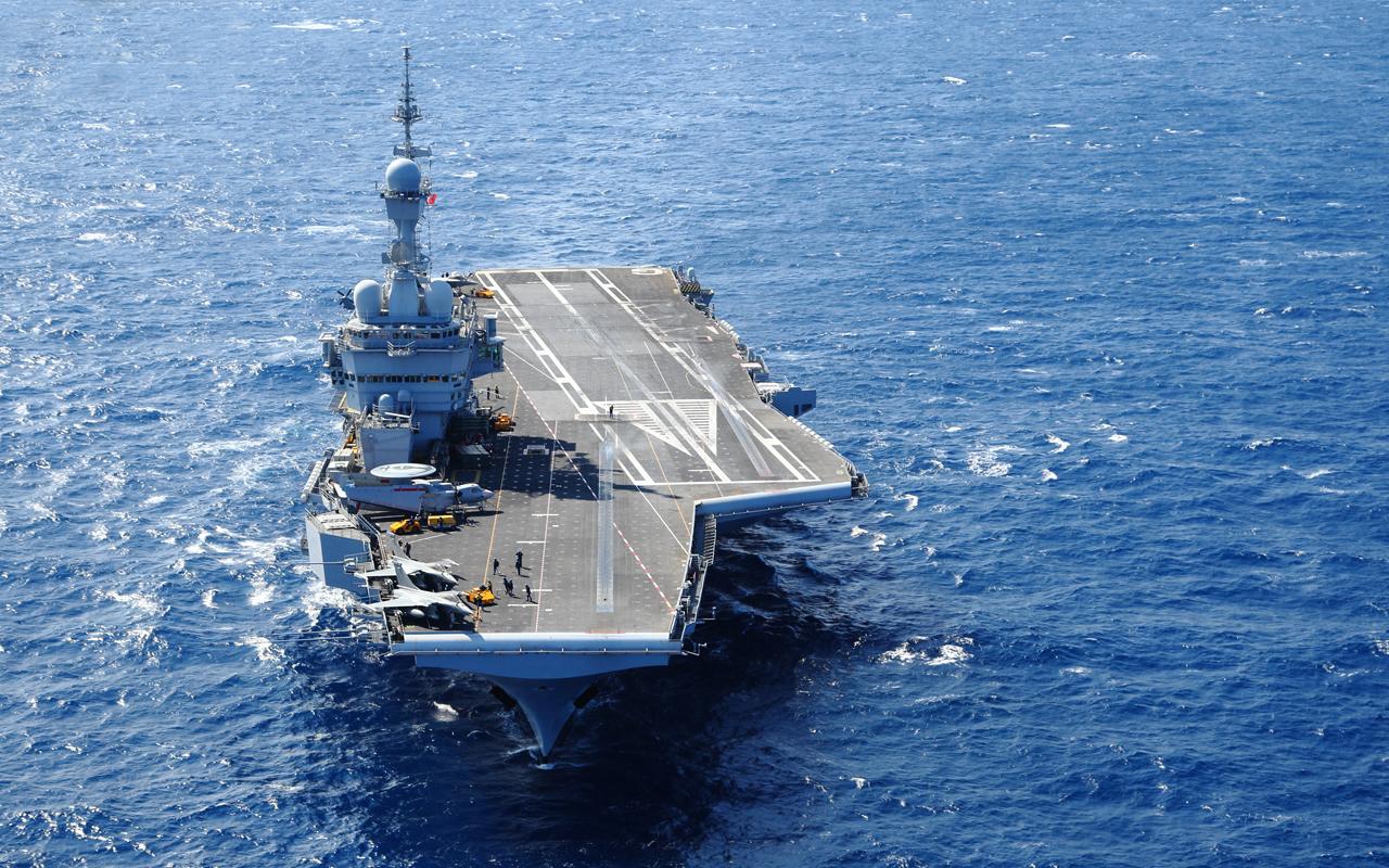 Vliegdekschip Charles de Gaulle
