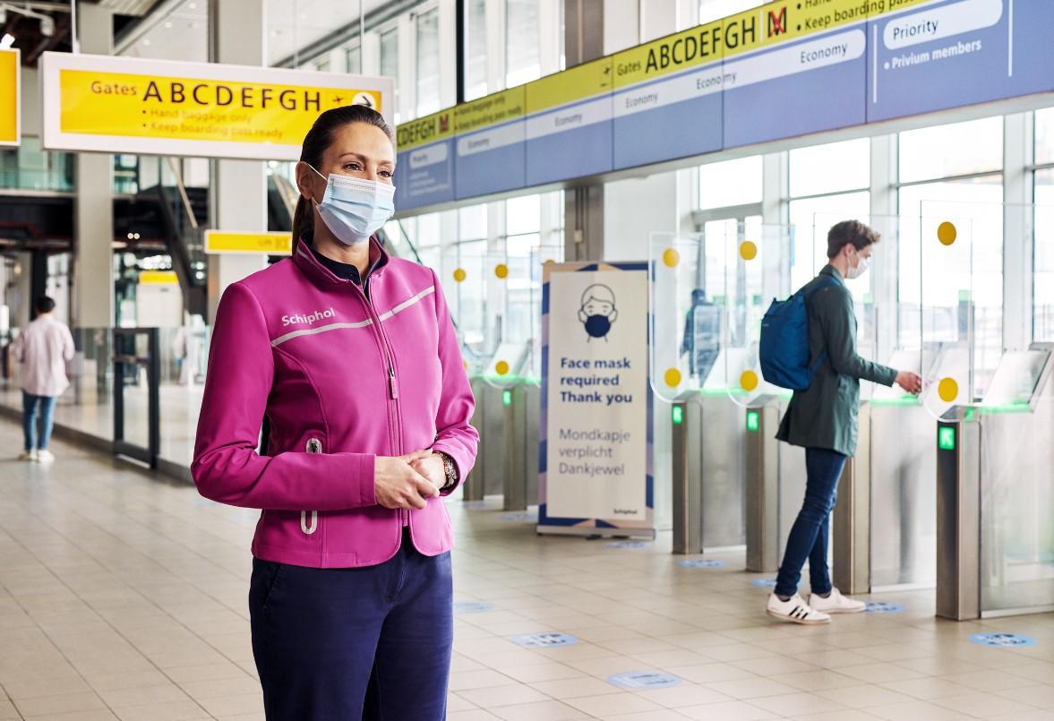 Nieuwe Bedrijfskleding Schiphol