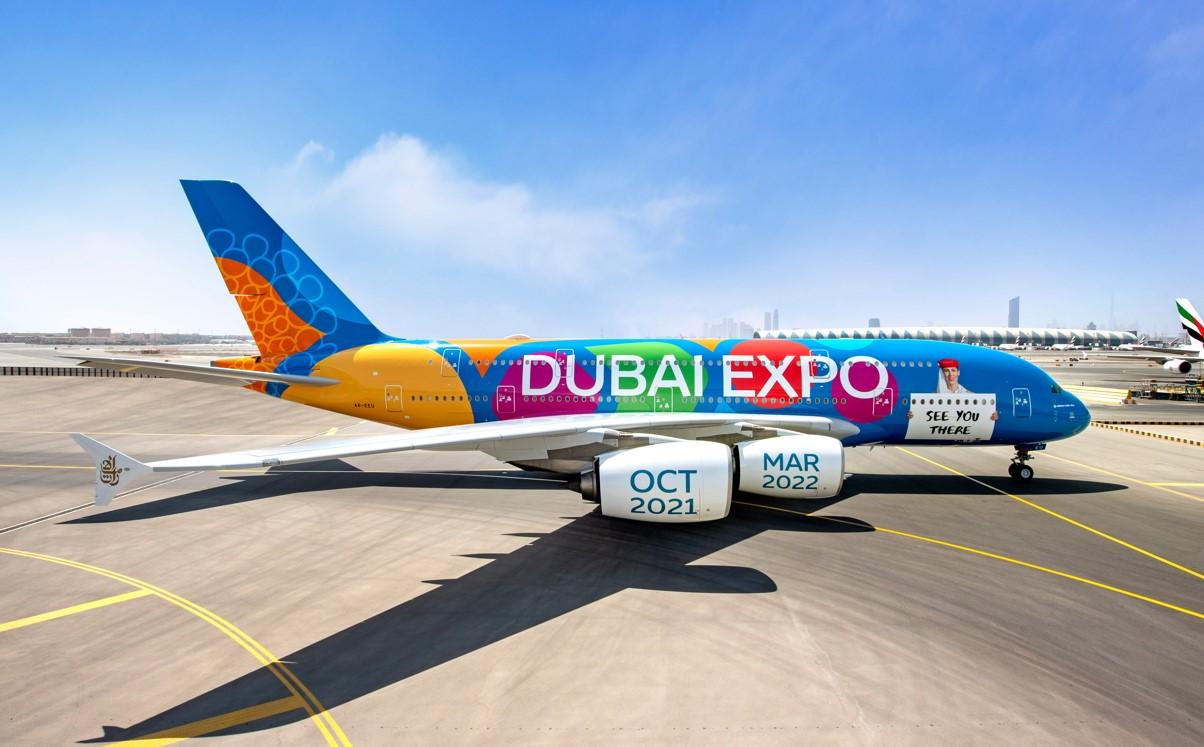 Emirates A380 Expo Dubai