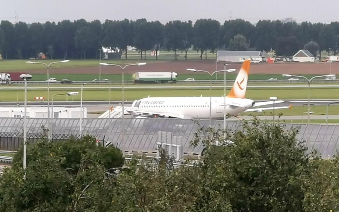 Freebird A320 Schiphol Evacuees