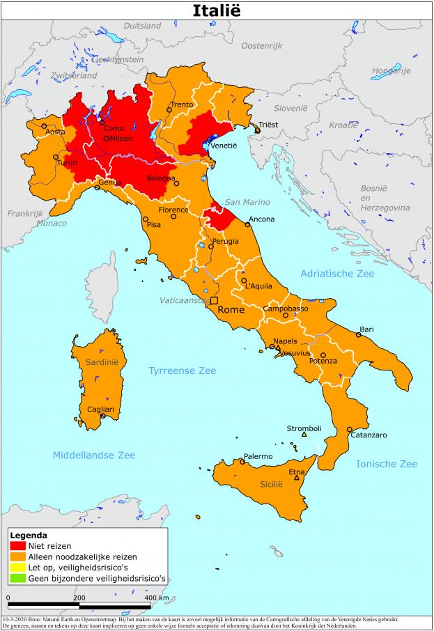 Reisadvies Italië