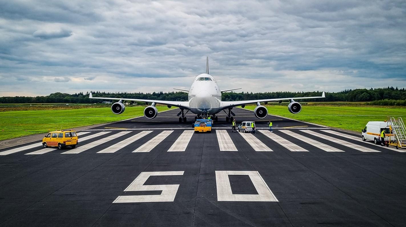Vertrek laatste 747 Twente
