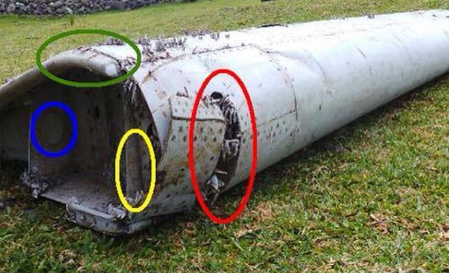 Gevonden vleugeldeel 39 vrijwel zeker 39 van mh370 luchtvaartnieuws - Wc opgeschort ...