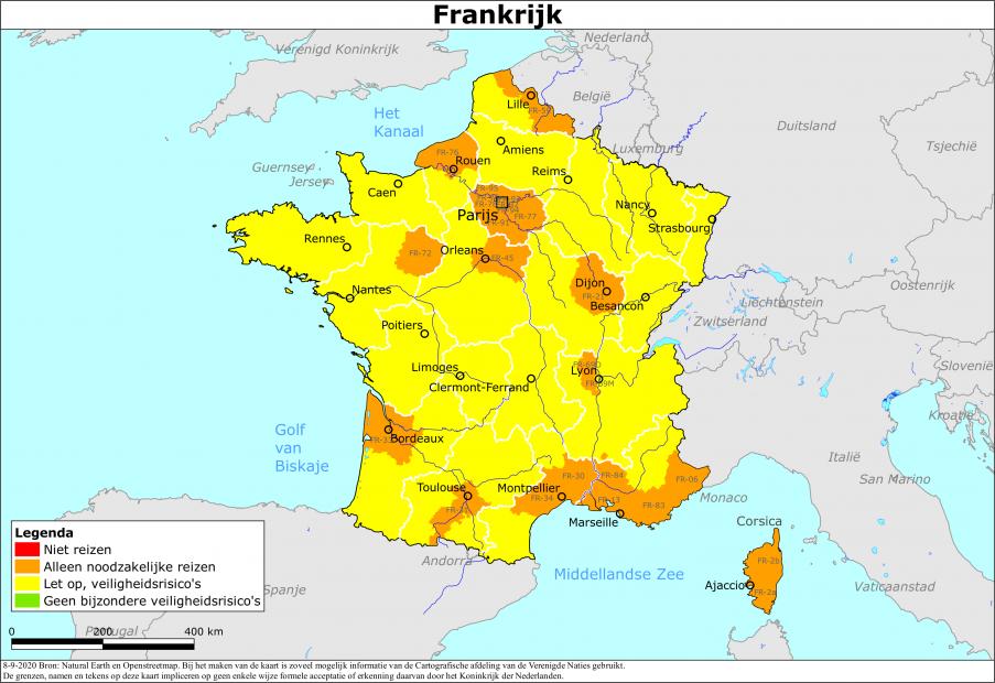 Reisadvies Frankrijk