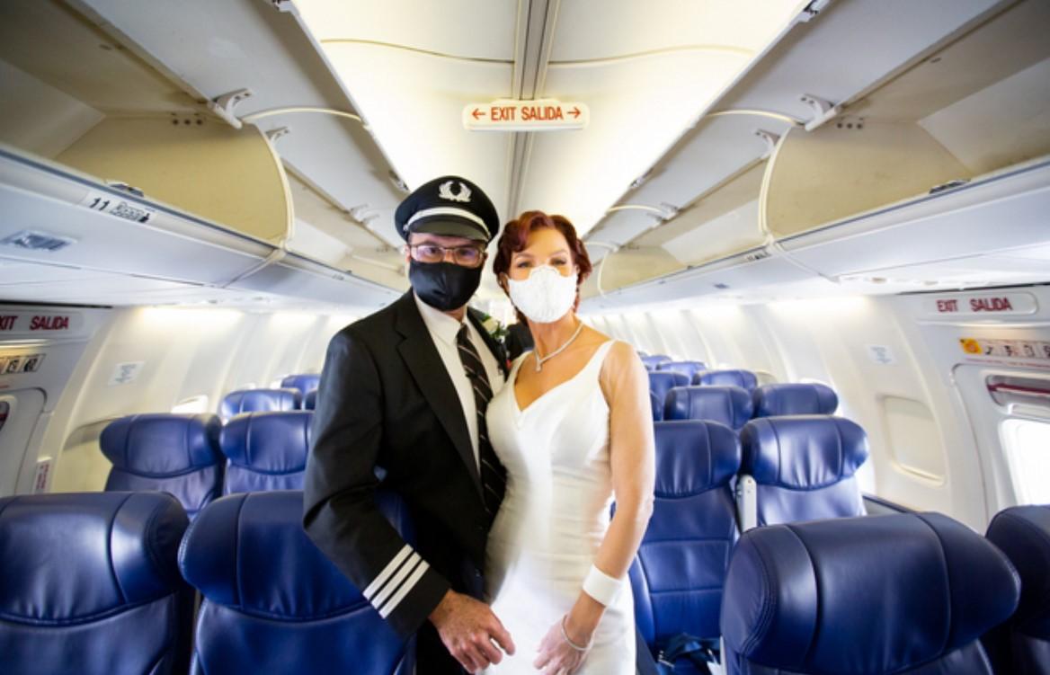 Piloot Bruiloft Southwest
