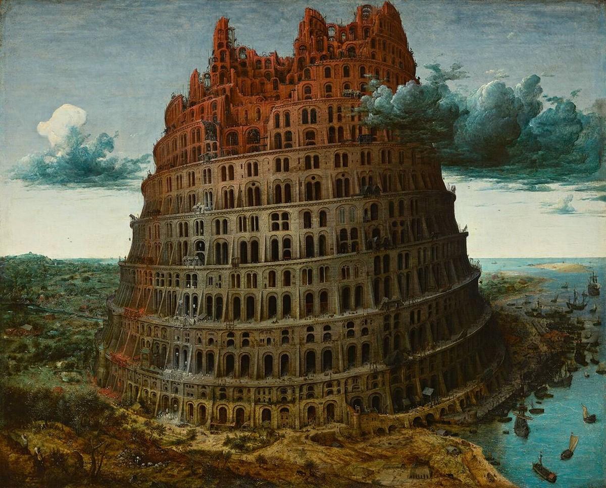 De kleine toren van Babel - Bruegel