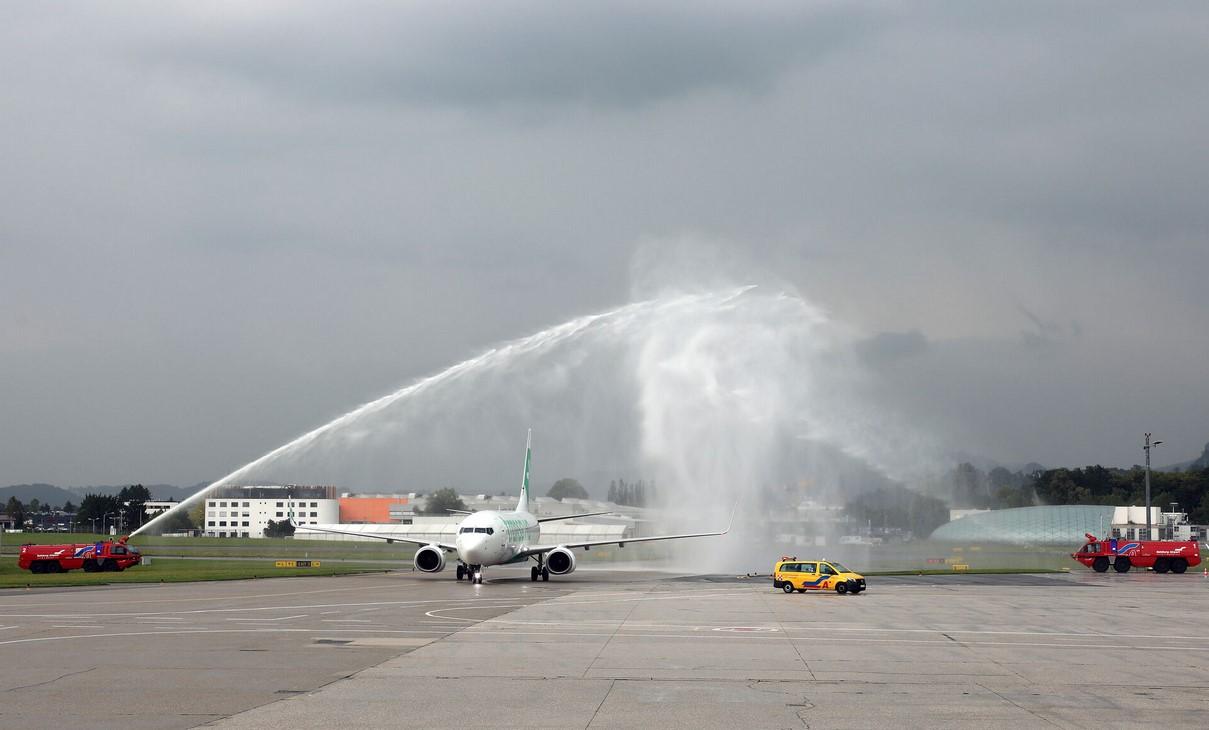 Transavia Eerste Zomervlucht Salzburg