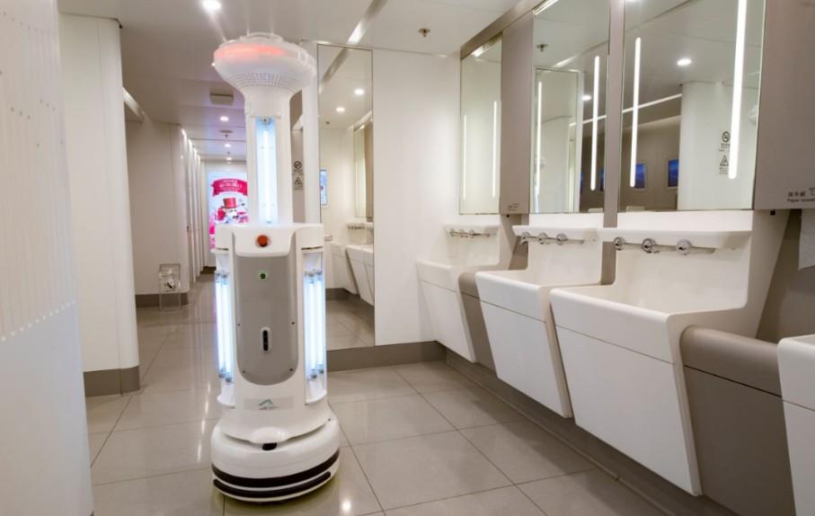 WC-schoonmaakrobot